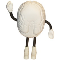 Brain Man Stress Toy