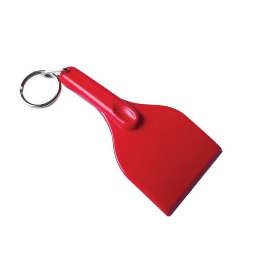 Curved Ice Scraper Keyring