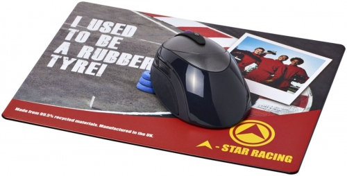 Brite-Mat Mouse Mat With Tyre Material