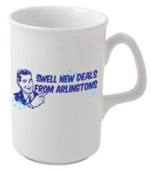Lincoln Earthenware Mug