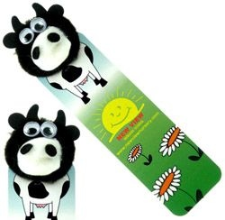 Cow Logo Bug Bookmark