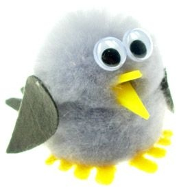 Pigeon Logo Bug
