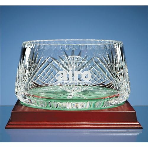 20cm Lead Crystal Panelled Fruit Bowl