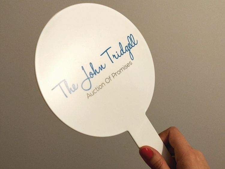 Auction Paddles Help Charity Auction #ByUKCorpGifts