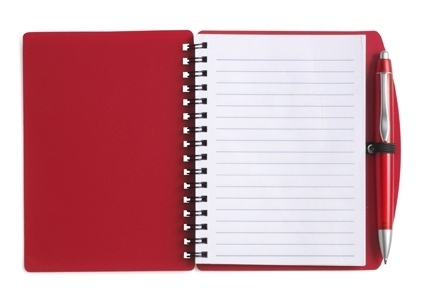 A6 PP Cover Note Book