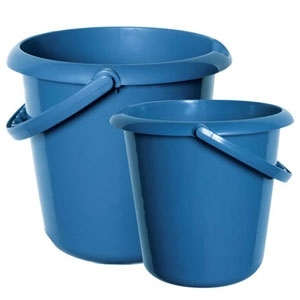 Plastic Bucket - Two Sizes