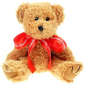 20 cm Sparkie Jointed Bear with Bow