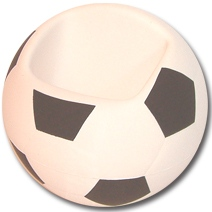Soccerball Holder Stress Toy
