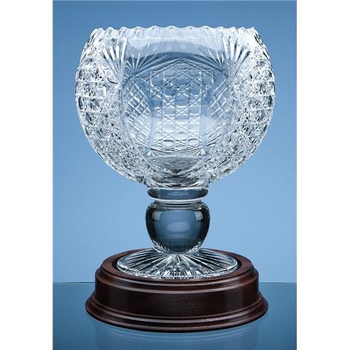 30cm Shire Crystal Masterpiece Footed Bowl