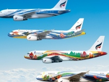 Big, Bold and Beautiful Airplane Artwork #CleverPromoGifts