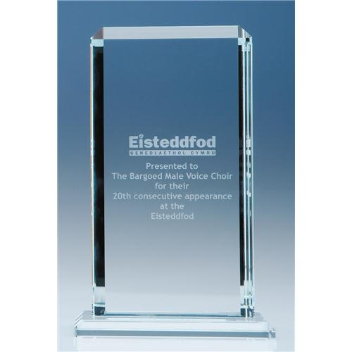 "9"" Clear Echo Award"