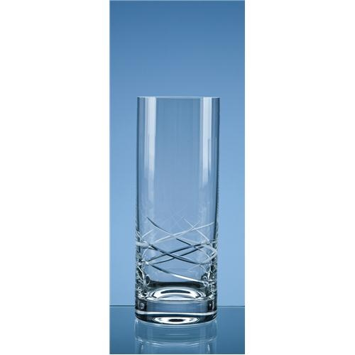 25.5cm Contempo Cut Straight Sided Vase
