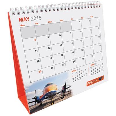 Easel Pod Desk Calendar