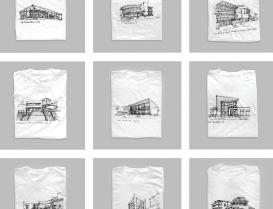Printed T-Shirts Woo Architects #CleverPromoGifts