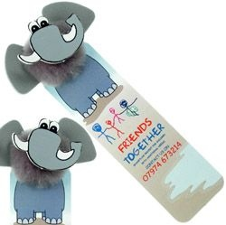 Elephant Logo Bug Bookmark