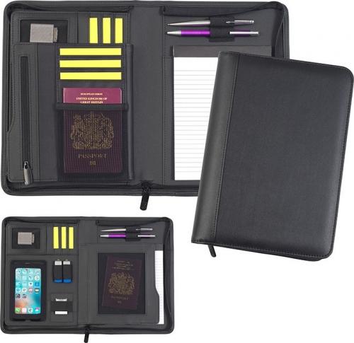 Romney Oversized A5 Zip Tabletfolio