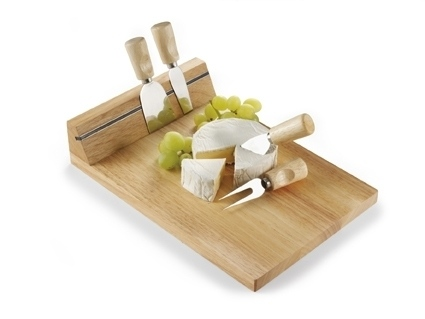 Wooden Cheeseboard Two