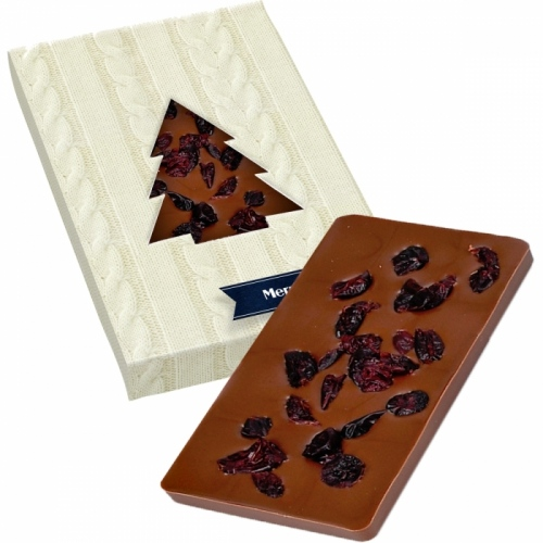 Chocolate Bar with Cranberries