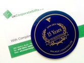 Promotional Cork Back Coasters Commemorate an Anniversary #ByUKCorpGifts