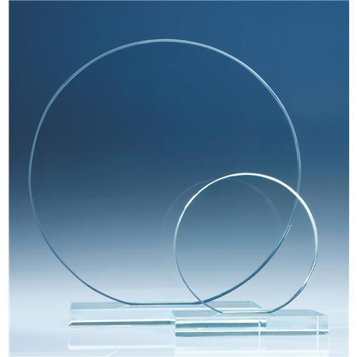 20cm Clear Circle Award