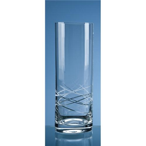 30cm Contempo Cut Straight Sided Vase
