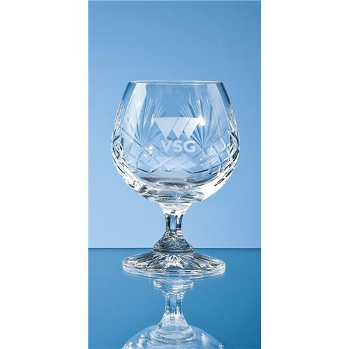 Durham Lead Crystal Panel Brandy