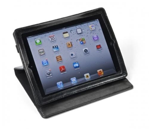 Ipad Holder In Leather