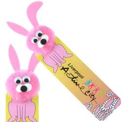 Rabbit Logo Bug Bookmark