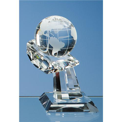 60 mm Optic Globe on Hand