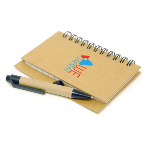 Recycled Nash A7 Note Pad And Pen