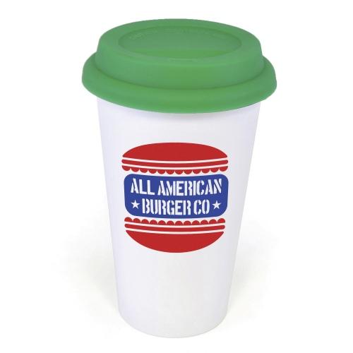 Plastic Take Out Mug