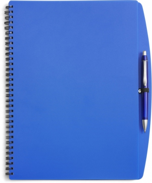 A4 Colour Plastic Notebook