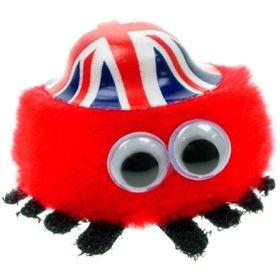Union Jack Hat Logo Bug