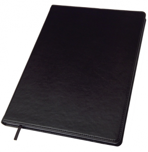 A4 Leather Look Notebook