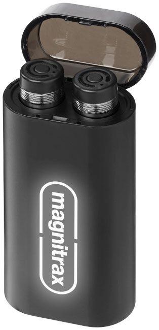 Glow Truewireless Earbuds With Light-Up Power Bank