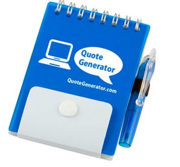 Small PP Reporter Notebook With Pen