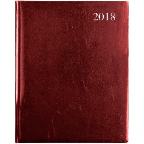 Leathergrain Weekly Quarto Desk Diary