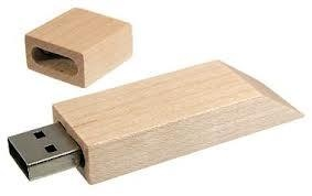 Wooden Wedge USB Flash Drive