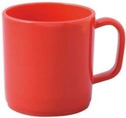 Plastic Mug - With Handle