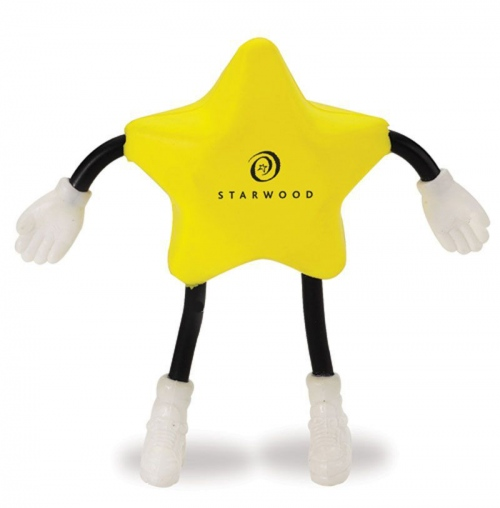 Star Man Stress Toy