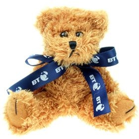 15 cm Sparkie Jointed Bear with Bow