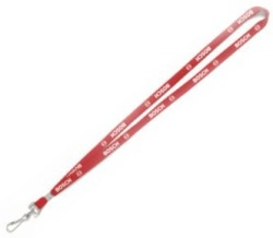 Tube or Flat Polyester Lanyard