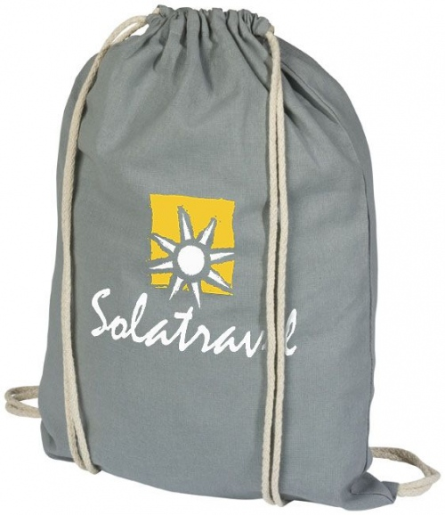 Oregon Cotton Drawstring Backpack