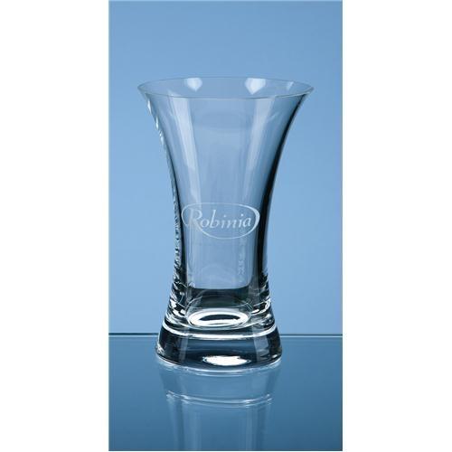 16.5cm Tuscany Plain Trumpet Vase