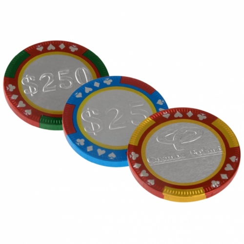 Chocolate Casino Coins
