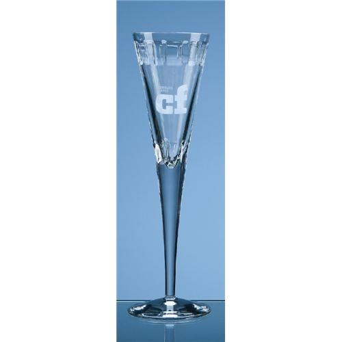 Luxor Lead Crystal Champagne Flute