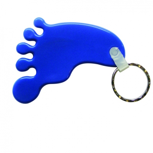 Standard Foot Shape Keyfob