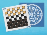 Promotional Checkerboards by Oreo Make Eating Biscuits Even More Fun! #CleverPromoGifts
