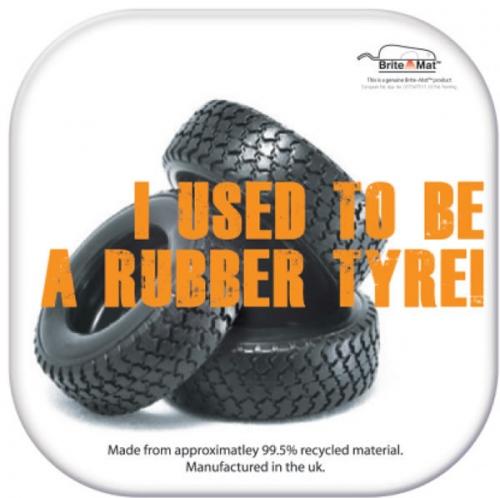 Square Tyre Coaster