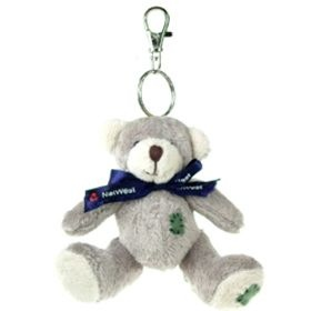 11 cm Keychain Gang - Bear with Bow
